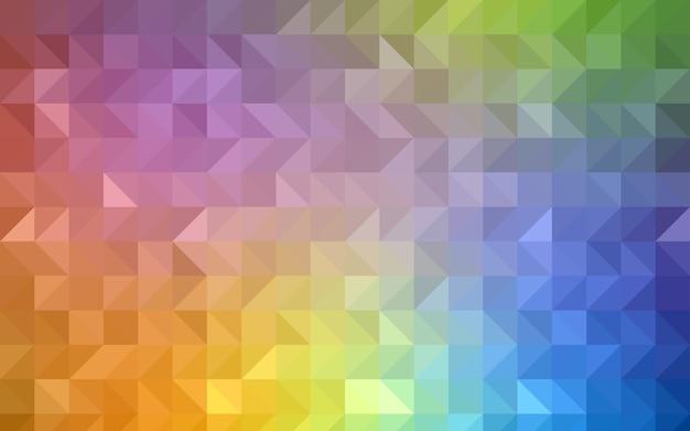 Modelo de mosaico de triângulo vector vermelho escuro