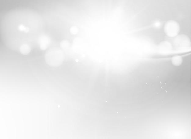 Modelo de negócio abstrato bonito em branco. desfoque bokeh e luz cinza. fundo desfocado e desfocado.