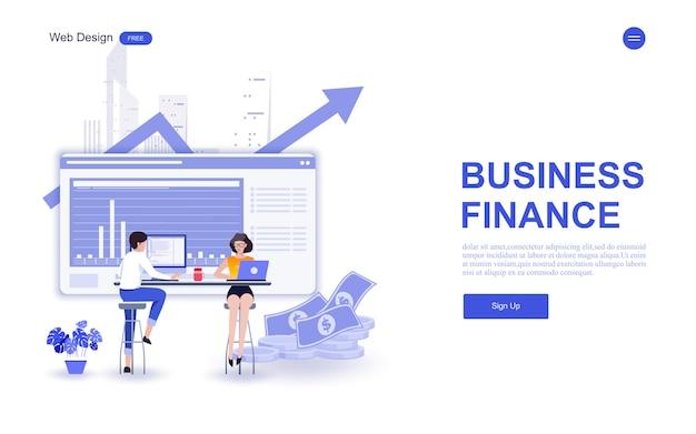 Modelo de negócios da web para marketing, análise e trabalho em equipe