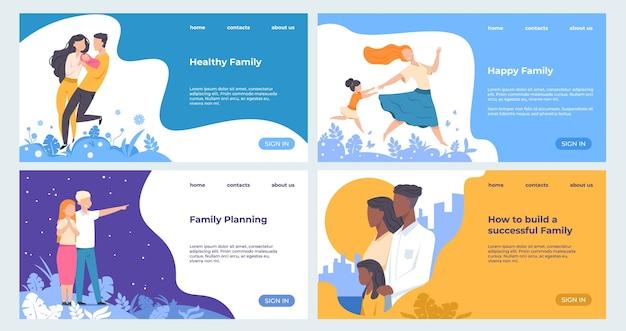 Modelo de negócios de página da web de saúde e seguros