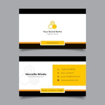 Modelo de nome de cartão premium