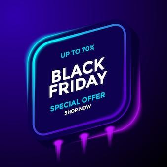 Modelo de oferta especial da black friday