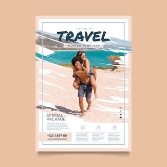 Modelo de pacote especial de viagem
