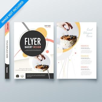 Modelo de padaria para insectos
