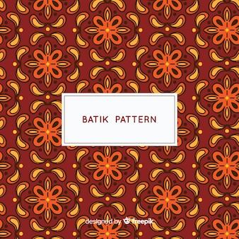 Modelo de padrão de batik