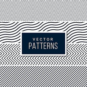Modelo de padrão de linha sem costura
