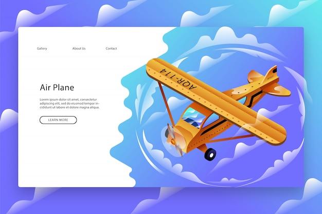 Modelo de página da web criativa
