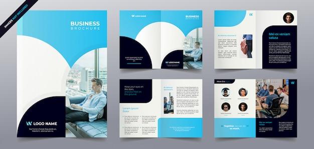 Modelo de páginas de brochura de negócios