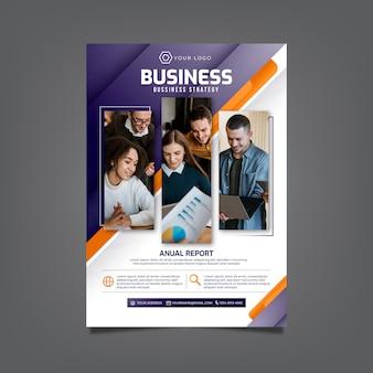 Modelo de panfleto comercial