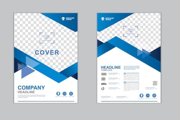 Modelo de panfleto de empresa