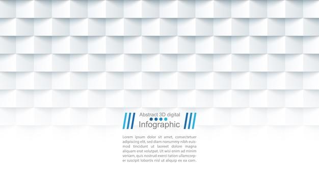 Modelo de papel abstrato