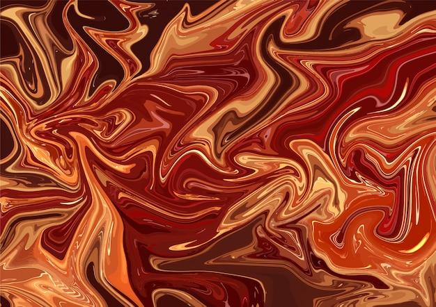 Modelo de papel de parede abstrato acrílico chamas