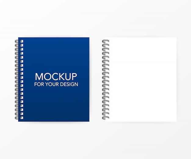 Modelo de papel pautado em branco, uma página