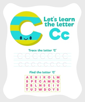 Modelo de planilha letra c