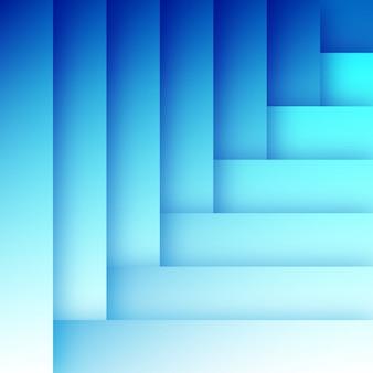 Modelo de plano de fundo abstrato azul plana