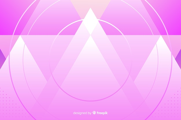 Modelo de plano de fundo com rosa abstrato montains