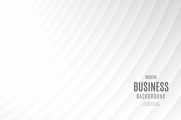 Modelo de plano de fundo empresarial moderno e limpo