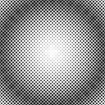 Modelo de plano de fundo padrão quadrado abstrato retrô de meio-tom