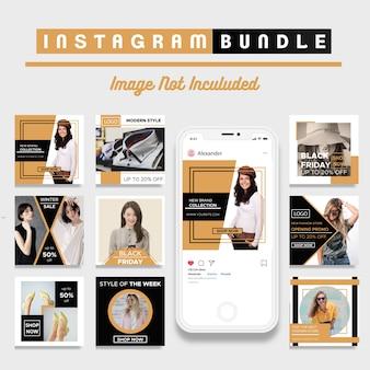 Modelo de postagem do instagram com desconto criativo