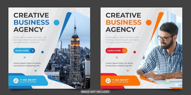 Modelo de postagem em mídia social de venda digital