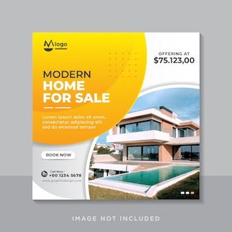 Modelo de postagens de instagram de imobiliárias