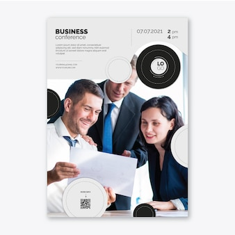 Modelo de pôster geral de negócios