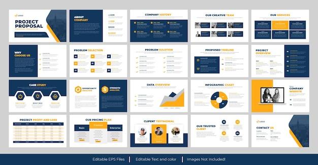 Modelo de powerpoint de proposta de negócios