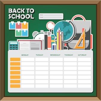 Modelo de programação escolar