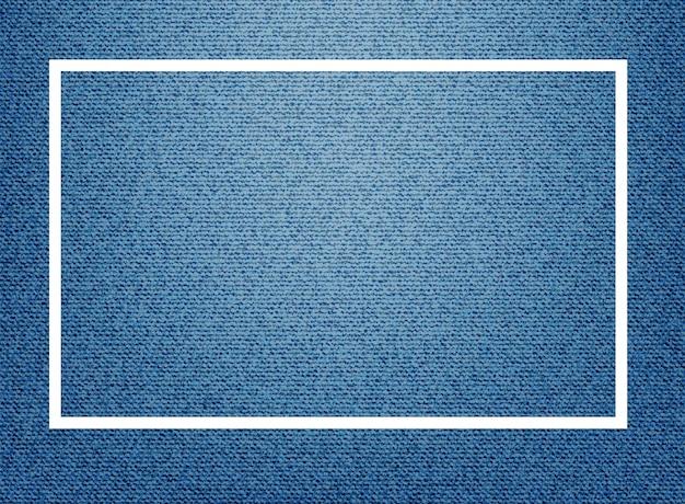 Modelo de quadro com fundo azul