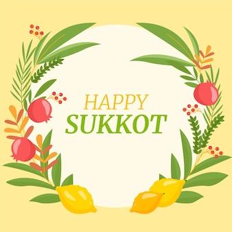 Modelo de quadro sukkot