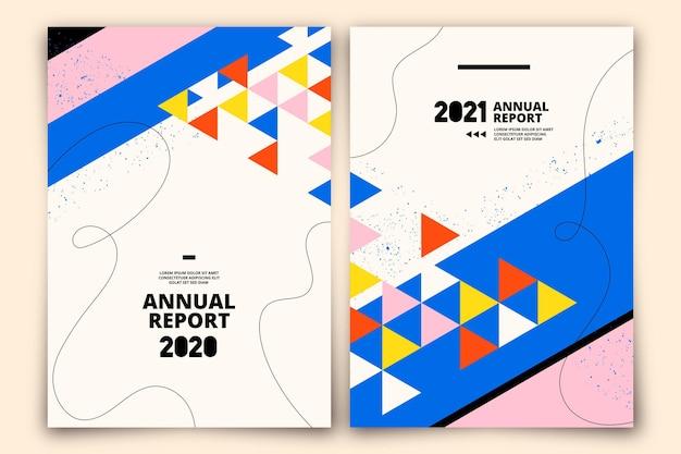 Modelo de relatório anual abstrato