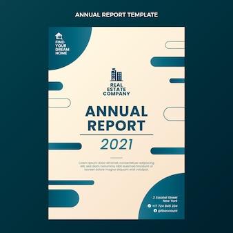 Modelo de relatório anual de gradiente imobiliário