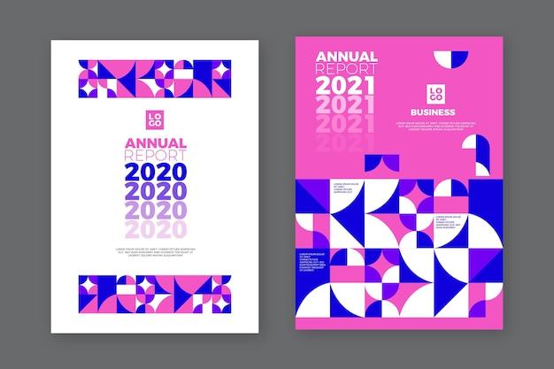 Modelo de relatório anual geométrico