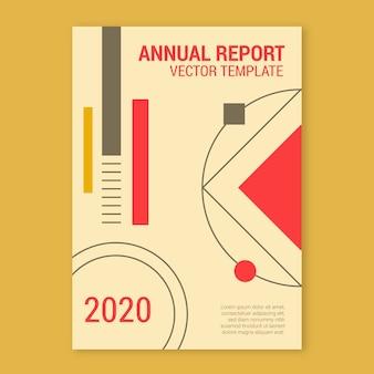 Modelo de relatório anual para 2020