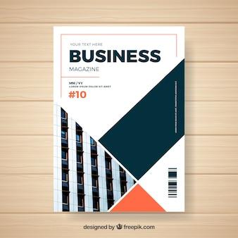 Modelo de revista de negócios