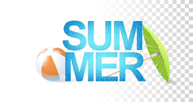 Modelo de sinal de verão