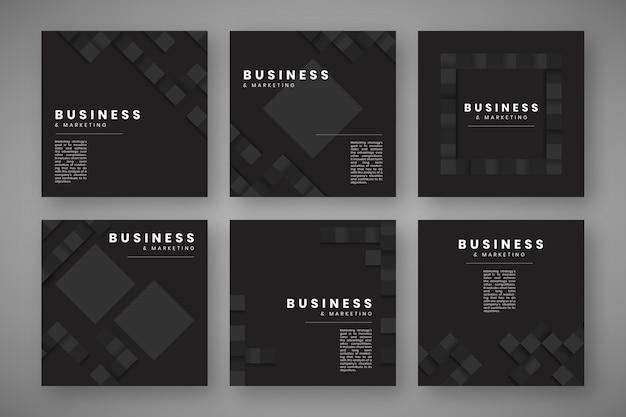 Modelo de site de design simples