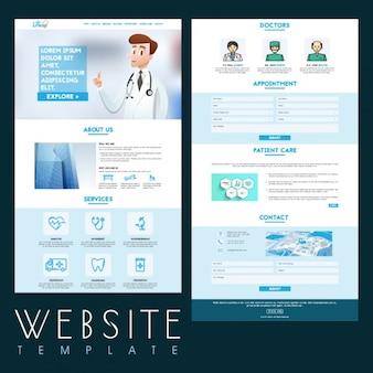 Modelo de site medical