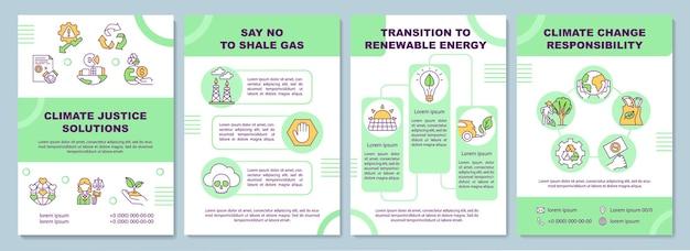 Modelo de solução de justiça climática.brochure
