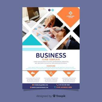 Modelo de sucesso de negócios de trabalho em equipe