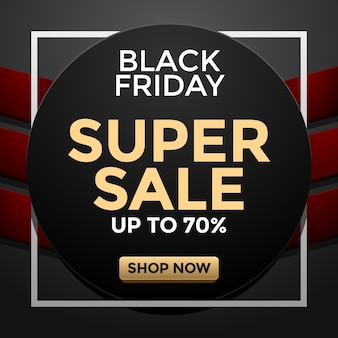Modelo de super venda de black friday