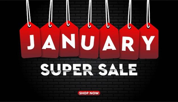 Modelo de super venda de janeiro.