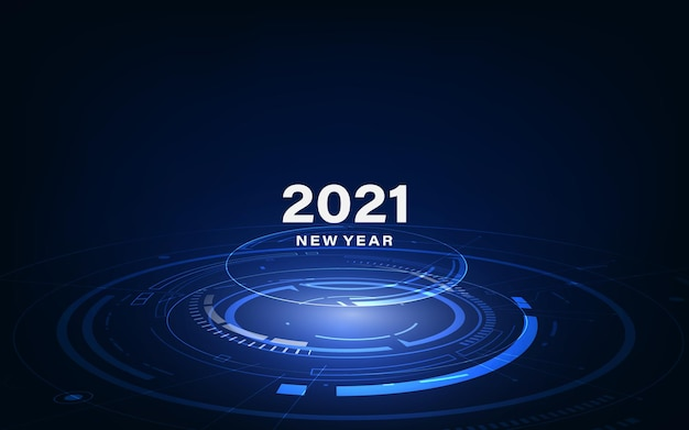 Modelo de tecnologia futurista moderna