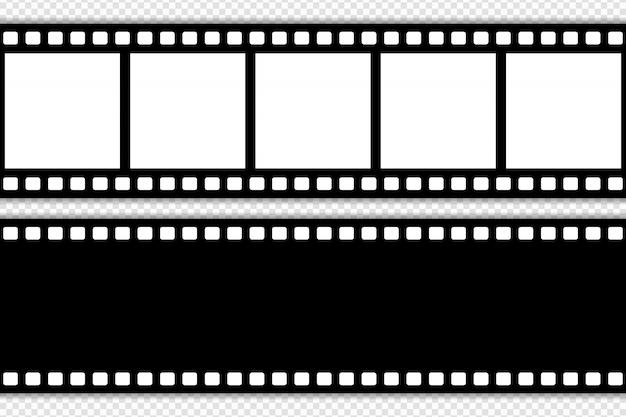 Modelo de tira de filme