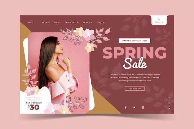 Modelo de venda - primavera de mídias sociais