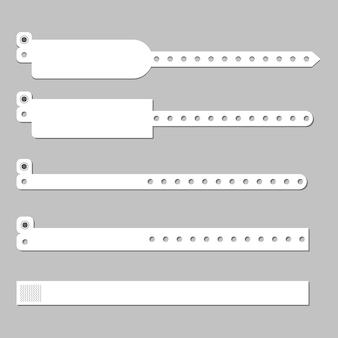 Modelo de vetor de pulseira de pulseira