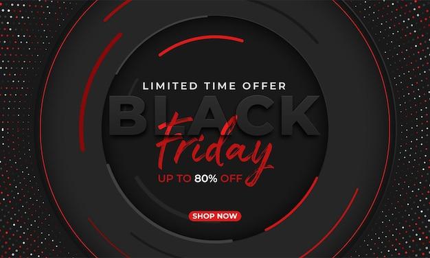 Modelo de vetor de venda sexta-feira negra