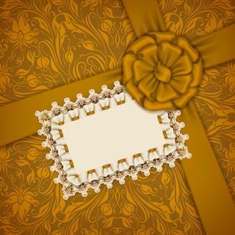 Modelo de vetor elegante para cartão de convite de luxo