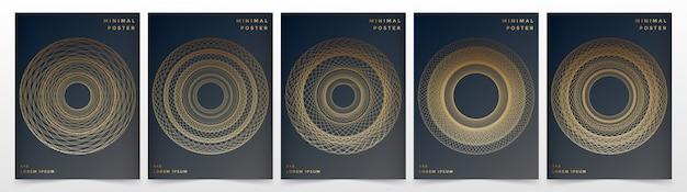Modelo de vetor moderno para brochura folheto folheto anúncio capa catálogo revista ou relatório anual.