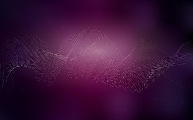 Modelo de vetor rosa escuro com círculos